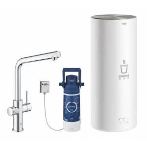 Комплект со смесителем для кухни GROHE Red Duo New, бойлер L-size, хром (30325001)