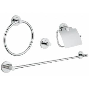 Набор аксессуаров GROHE Essentials (4 предмета), хром (40776001)