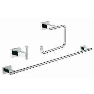 Набор аксессуаров GROHE Essentials Cube (3 предмета), хром (40777001)